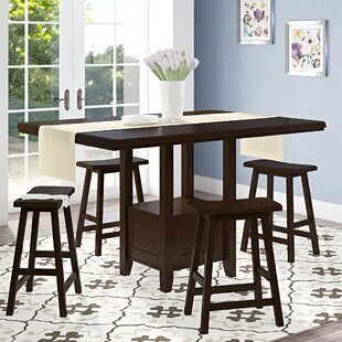 Bartons Bluff Drop Leaf Dining Table by Red Barrel Studio
