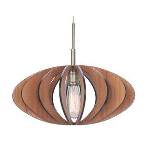 Wicks Canopy 1 Light Pendant
