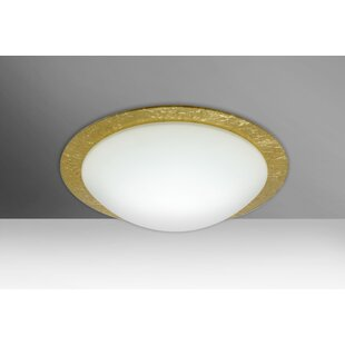Find for Ring 1-Light Outdoor Flush Mount By Besa Lighting