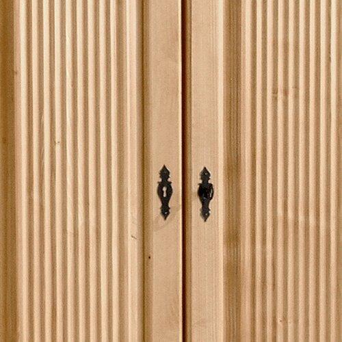 Garderobenschrank Ora Forestdream Farbe: Gelaugt| Größe: 193 cm H x 90 cm B x 59 cm T | Flur & Diele > Garderoben > Garderobenschränke | Forestdream
