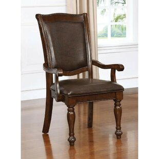 Montcalm Traditional Padded Upholstered Dining Chair (Set of 2)