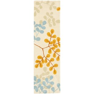 Affordable Modern Art Ivory/Multi Rug By Safavieh