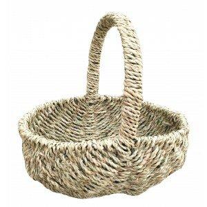 Oval Seagrass Picnic Basket By Brambly Cottage