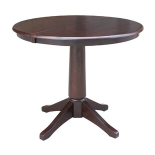 Cochrane Extension Pedestal Solid Wood Dining Table