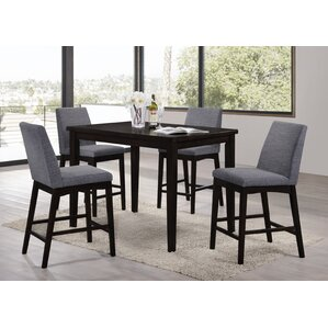 High Dining Room Chairs Interesting Counter Height Dining Sets You'll Love  Wayfair Inspiration Design
