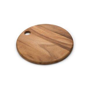 Gourmet Wood Round Everyday Cutting Board ByIronwood Gourmet