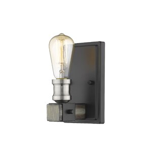 Viers 1-Light Armed Sconce by Williston Forge