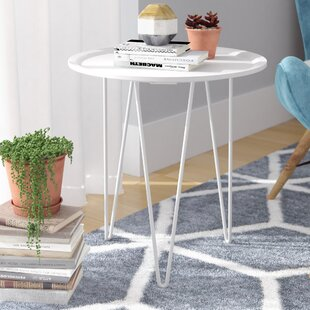 Savings Batz End Table by Wrought Studio