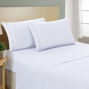 Budget Erardo 1500 Series Collection Premium 4 Piece Bed Sheet Set ByThe Twillery Co.