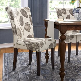 Doerr Upholstered Dining Chair (Set of 2) Charlton Home
