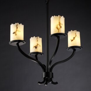Brayden Studio Keyon 4-Light Shaded Chandelier