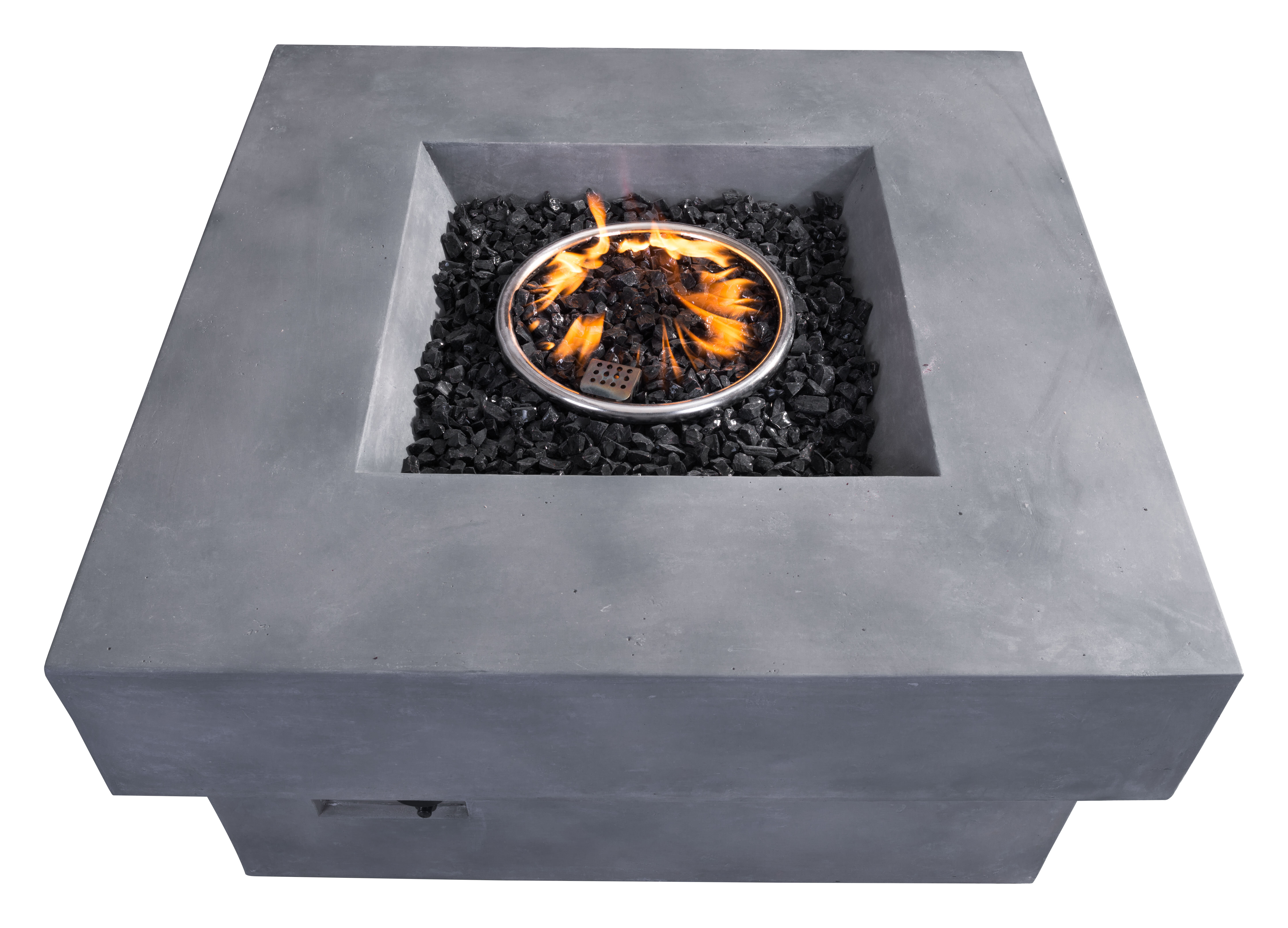 concrete pit real baltic fireplace reviews small propane table wayfair outdoor flame fire pdx