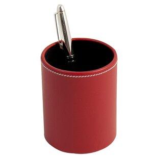 Bey-Berk Huntting Leather Pen Cup
