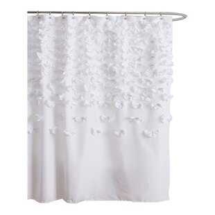 beige and white shower curtain. Save To Idea Board Modern Shower Curtains  AllModern