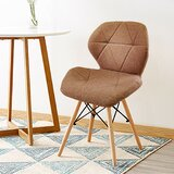 Calles Tufted Upholstered Side Chair (Set of 2) by Wrought Studio™