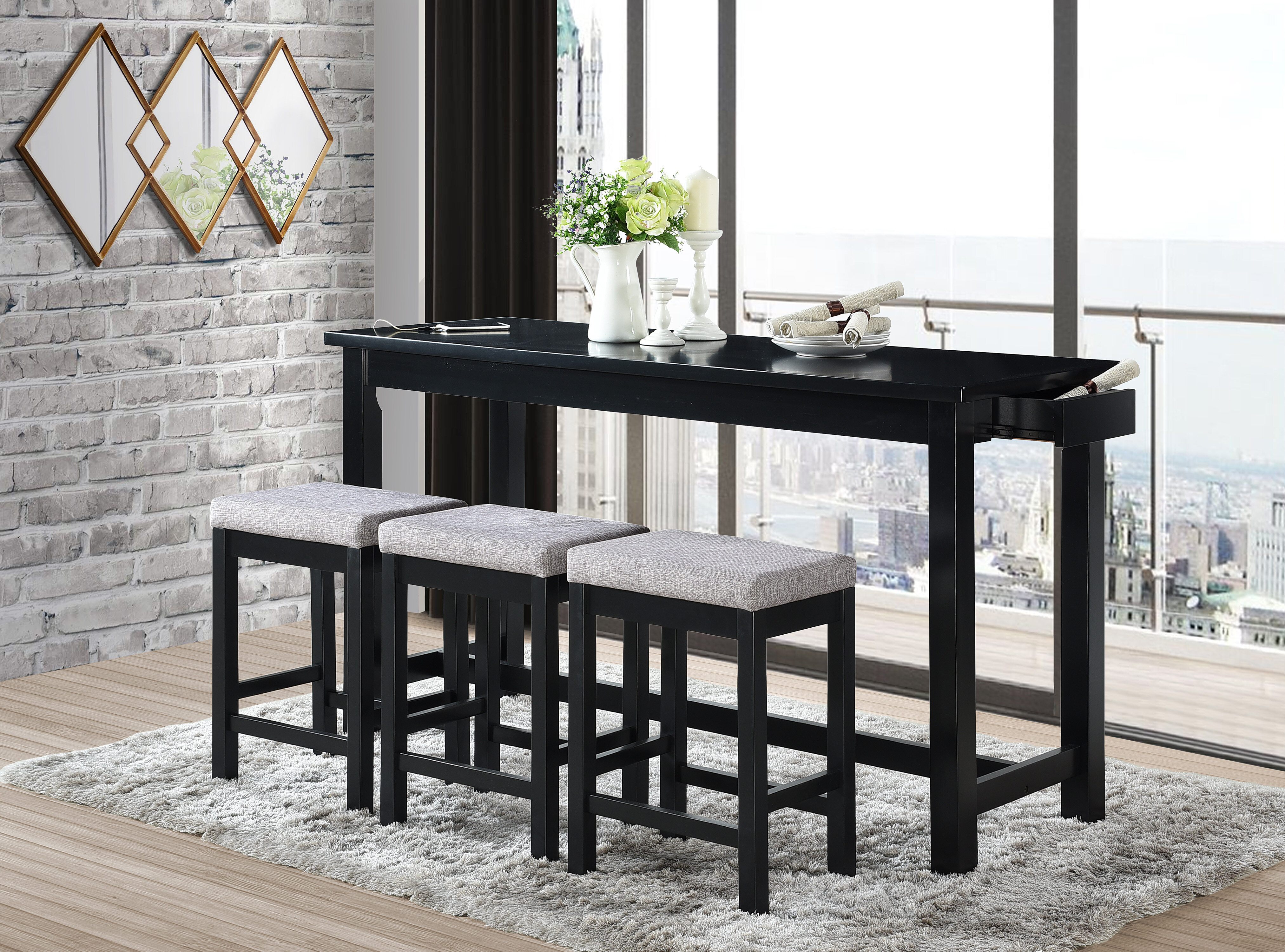 Picture of: Bar Counter Height Dining Sets Up To 55 Off Through 12 26 Wayfair