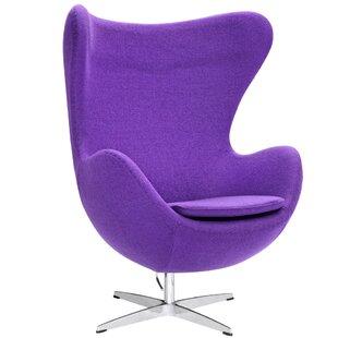 Bon Purple Swivel Chairs | Wayfair
