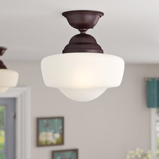 Bolden 1-Light Semi-Flush Mount by Andover Mills