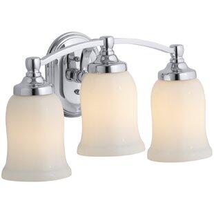Kohler Bancroft Triple 3-Light Vanity Light
