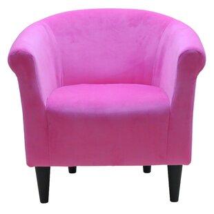 Pink Fluffy Chair | Wayfair