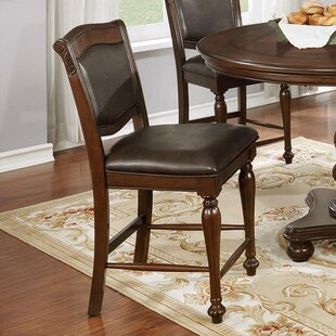Ripple Traditional Upholstered Dining Chair (Set of 2) Astoria Grand