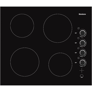 24 Electric Cooktop with 4 Burners