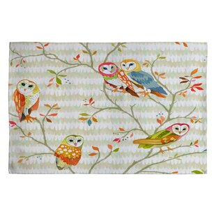 Top Reviews Betsy Olmsted Owl Tree 2 Novelty Rug By Deny Designs