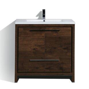 Almendarez Free Standing Modern 36 Single Bathroom Vanity Set