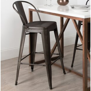 Novick 23 Bar Stool (Set of 2) Williston Forge