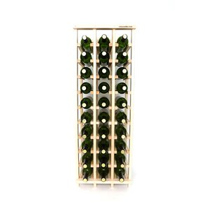 Premium Cellar Series 30 Bottle Floor Wine Rack by Wineracks.com