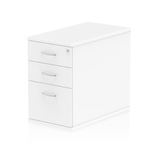 800 Desk High Pedestal 3 Drawer Filing Cabinet By Brayden Studio