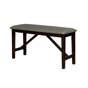 Floodwood Faux Leather Bench New