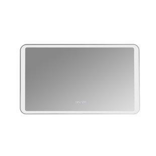 Cash Frameless Lighted Magnifying Vanity Mirror