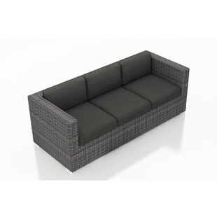 Harmonia Living District Patio Sofa with Cushions