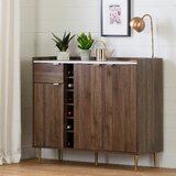 Hype Buffet with Wine Storage by South Shore