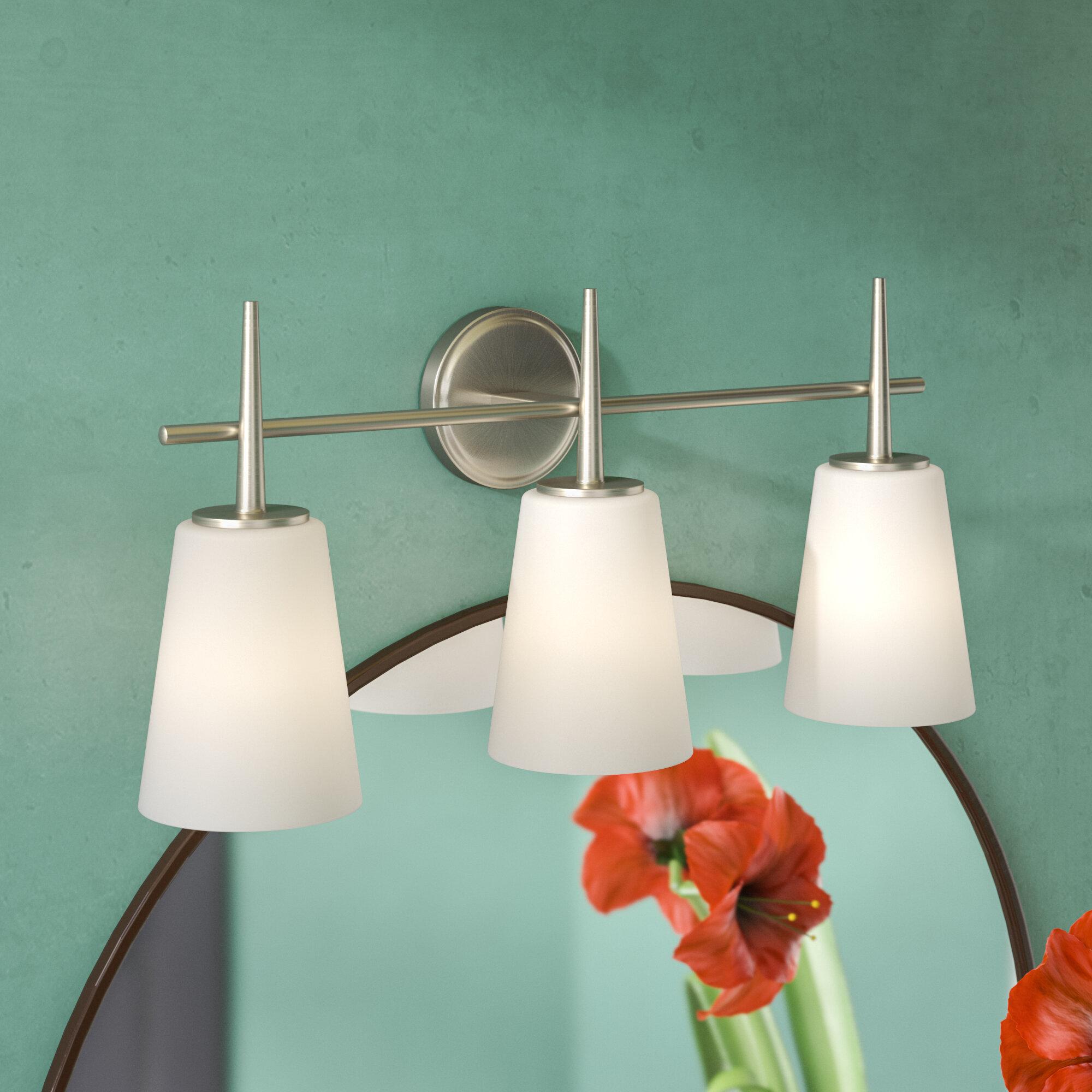 Langley Street Ganador 3-Light Vanity Light | Wayfair