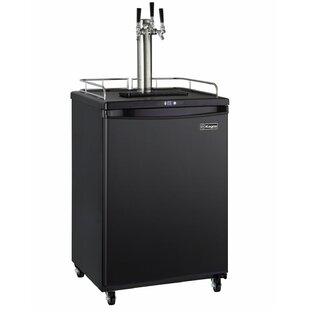 5.8 cu. ft. Digital Home Brew Commercial Grade Triple Tap Full Size Kegerator