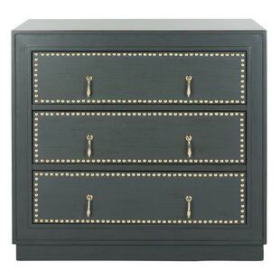 Castleberry 3 Drawer Accent Chest by Bungalow Rose