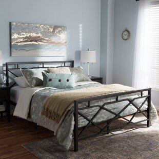 Wrought Studio Reale Modern and Contemporary Stippled Platform Bed