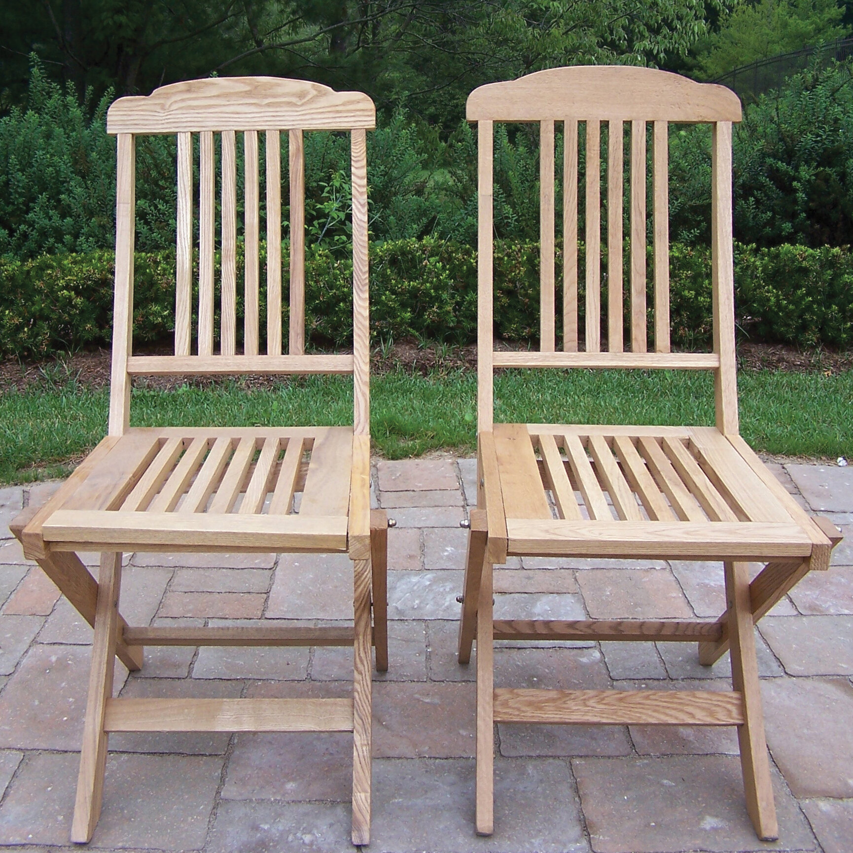 Oakland Living Stacking Patio Dining Chair Wayfair