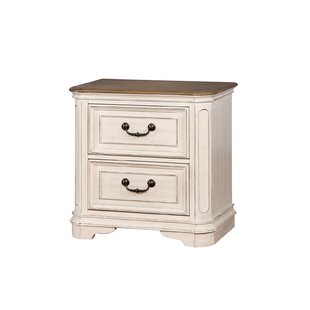 Aiden 2 Drawer Nightstand