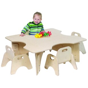Shopping for Infant-Toddler 36 Four Cutout Activity Table By Angeles