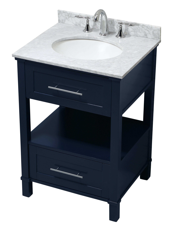 Highland Dunes Saunderstown 25 Single Bathroom Vanity Set Wayfair