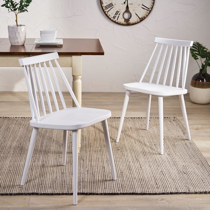 Astounding Osblek Farmhouse Spindle Back Dining Chair Pdpeps Interior Chair Design Pdpepsorg