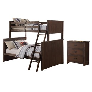 Find for Lawerence Twin Over Full Bunk Bed Configurable Bedroom Set ByHarriet Bee