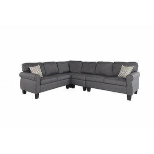 Devin Upholstered Modular Sectional by Alcott Hill