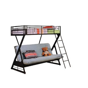 Chiu Twin/Full Futon Bunk Bed by Zoomie Kids