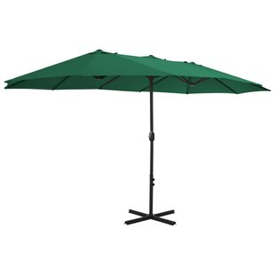 2.7m X 4.6m Rectangular Traditional Parasol By Freeport Park