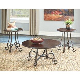 Fleur De Lis Living Kempner 3 Piece Coffee Table Set