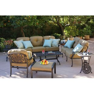 Skyloft 4 Piece Sofa Set With Cushions by Astoria Grand Best Choices